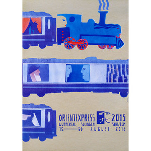 OrientExpress, plakat...