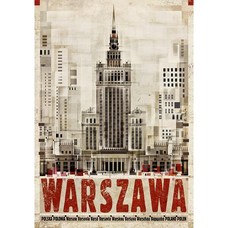 Warszawa Plakat Z Serii Polska Ryszard Kaja