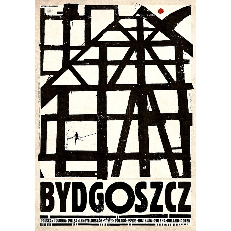 Bydgoszcz Plakat Z Serii Polska Ryszard Kaja