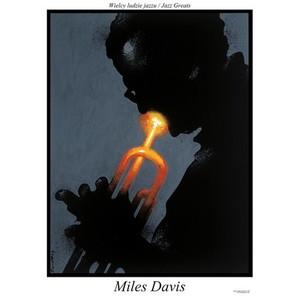 Miles Davis, plakat z serii...