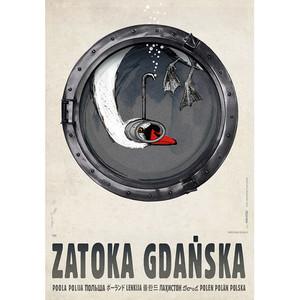 Zatoka Gdańska, plakat z...
