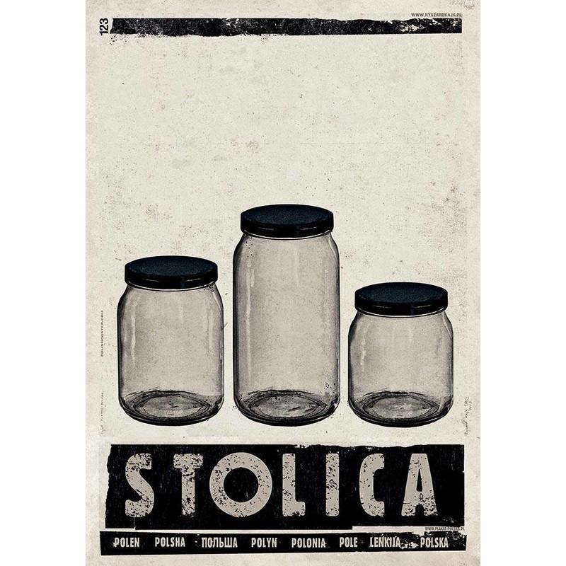 Stolica Plakat Z Serii Polska Ryszard Kaja