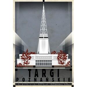Targi Poznańskie, plakat z...
