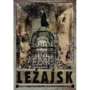 Leżajsk, plakat z serii...