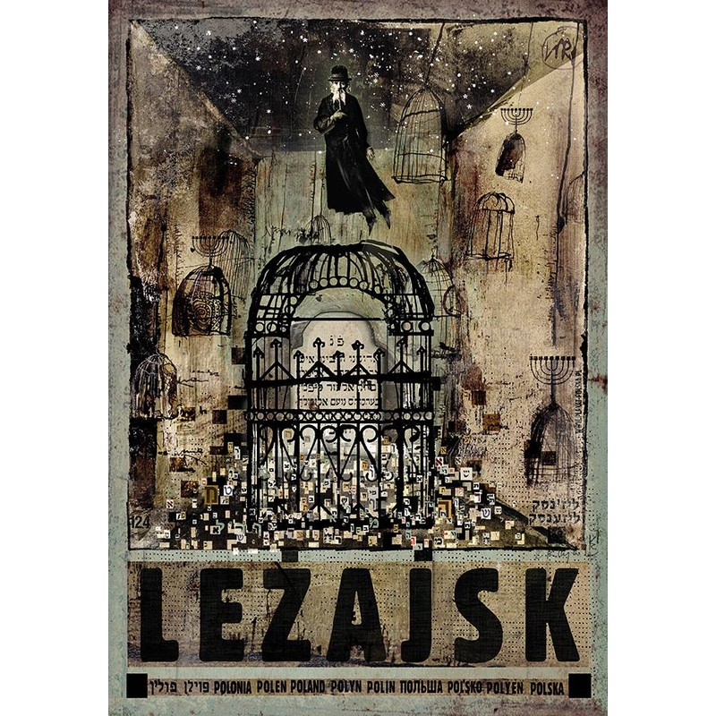 Leżajsk Plakat Z Serii Polska Ryszard Kaja