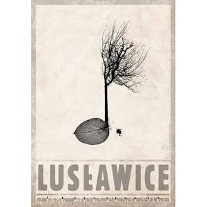 Lusławice, plakat z serii...