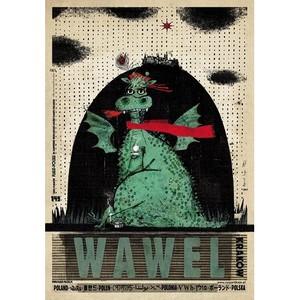Wawel, plakat z serii...
