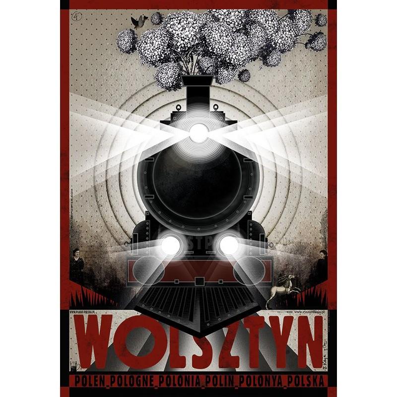 Wolsztyn Plakat Z Serii Polska Ryszard Kaja