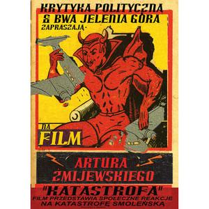 Katastrofa, plakat filmowy,...