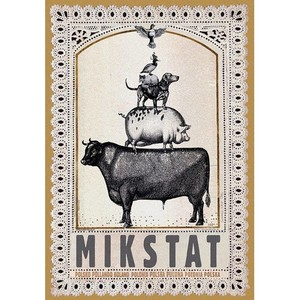 Mikstat, Polish Poster by...