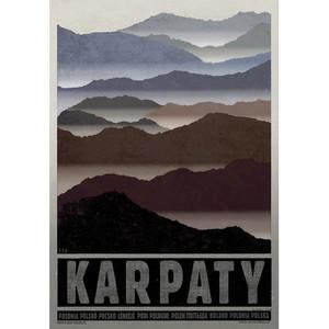 Carpathian Mountains Poster...