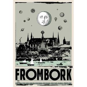 Frombork, plakat z serii...