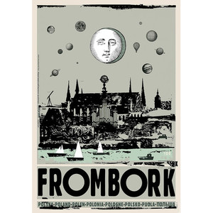 Frombork, Poster by Ryszard...