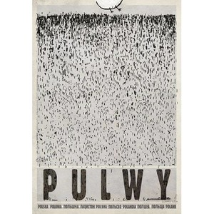 Pulwy, plakat z serii...