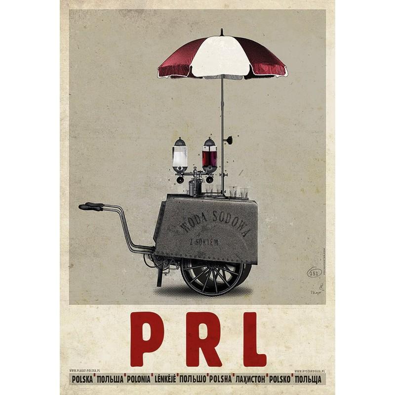 Prl Polish Poster By Ryszard Kaja