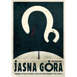Jasna Góra, plakat z serii...