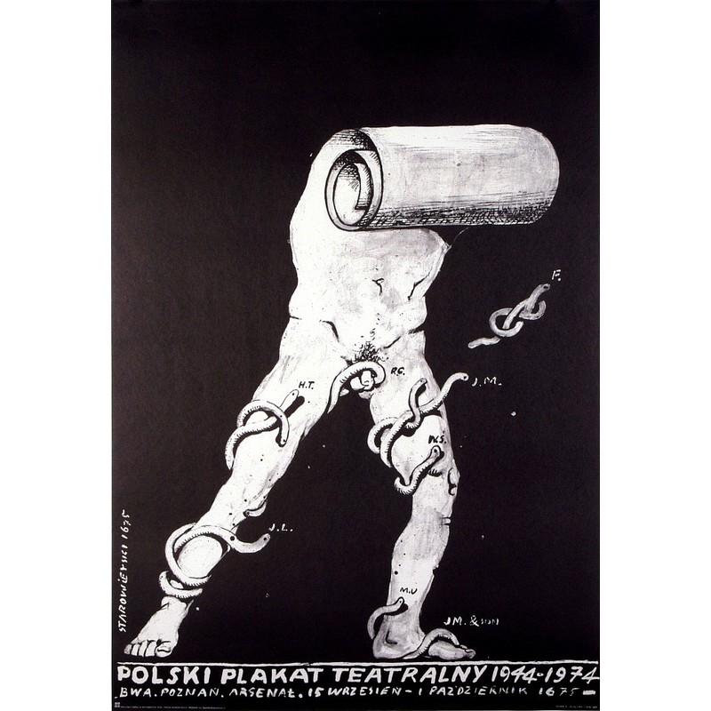 Polski Plakat Teatralny 1944 74
