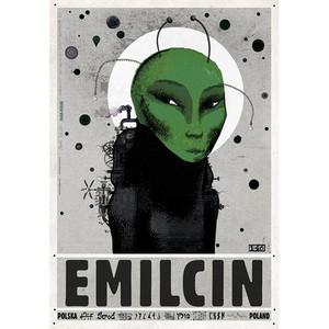 Emilcin, UFO, Polish Poster...
