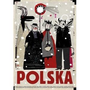 Polska Kolędnicy, plakat,...
