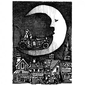 Paper Moon, Polish Poster,...