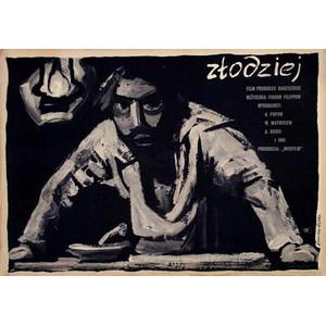 Zlodziej, Polish Poster,...