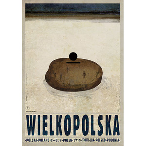 Wielkopolska, polski plakat...