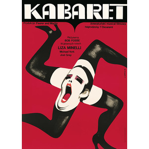 Cabaret, Polish Poster,...
