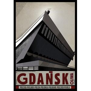 Gdańsk Oliwa, Plakat z...