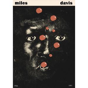 Miles Davis Poster by Jakub...