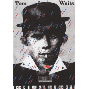 Tom Waits poster by Jakub...