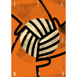 Volleyball, Sport Poster by...