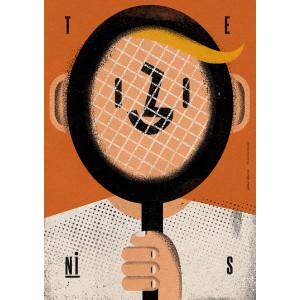 Tenis, plakat sportowy,...
