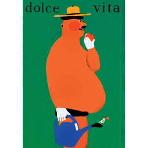 Dolce Vita II, plakat,...