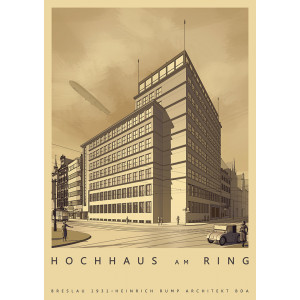 Hochhaus am Ring, Wroclaw,...