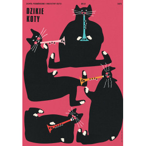 Wild Cats, Poster by Jakub...