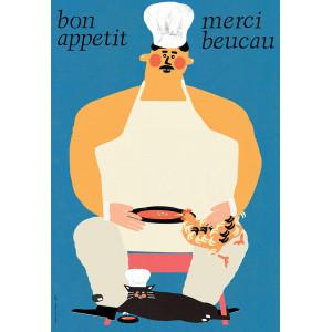 Bon Apetit, Poster by Jakub...