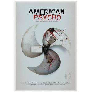 American Psycho, plakat...