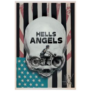 Hells Angels, plakat, Jacek...