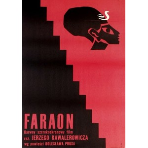 Faraon, polski plakat...