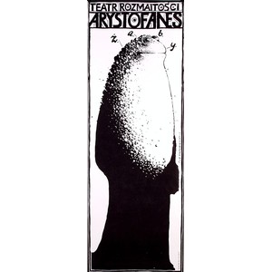 Frogs, Polish Theater Poster