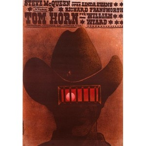 Tom Horn, Polish Movie Poster