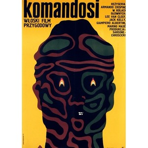 Commandos, Polish Movie Poster