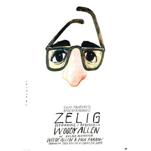 Zelig, Polish Movie Poster