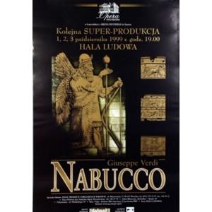 Nabucco - Opera poster